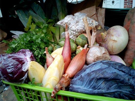 Panier de legumes 15 euros